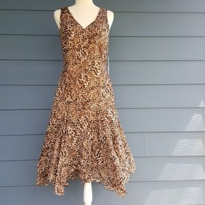 New Lauren Ralph Lauren leopard print dress